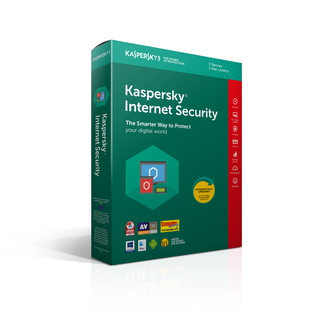 Kaspersky Internet Security - 1 an - 3 appareils