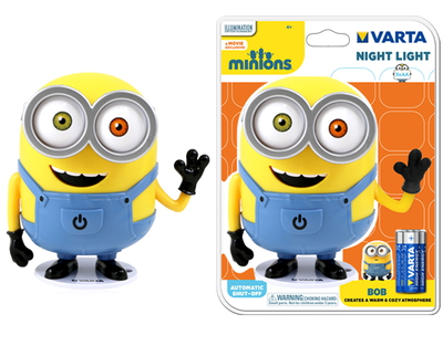 Minions Night Light 3AA LED Nachtlamp