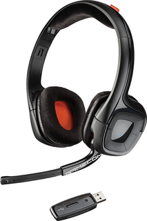 Plantronics GameCom 818 Binaural Bandeau Noir Casque audio