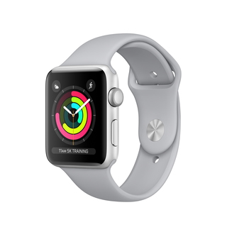 Apple Watch Series 3 42 mm Zilver/Zilver (M/L)