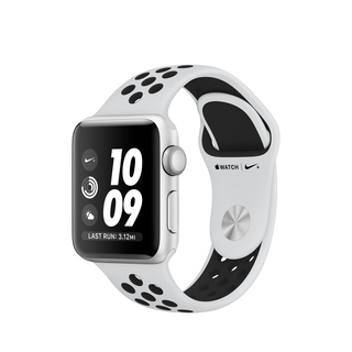 Apple Watch Nike+ Series 3 38mm Zilver/Wit (S/M)