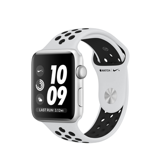 Apple Watch Nike+ Series 3 42 mm Zilver/Wit (M/L)