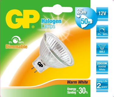 Lighting 054498-HLME1 35W GU5.3 B Halogène