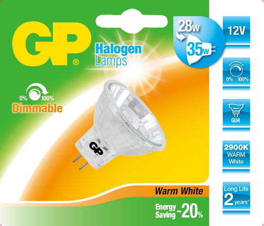 Lighting 056454-HLME1 28W GU4 C Halogène