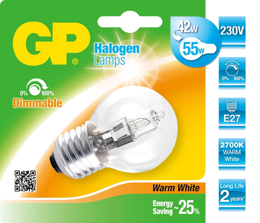 Lighting 046660-HLME1 42W E27 D Halogeen
