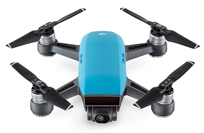 Spark 4propellers Blauw camera-drone