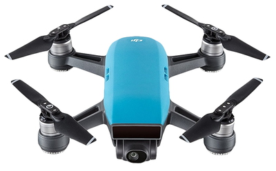 DJI Spark Fly More Combo 4propellers Blauw camera-drone