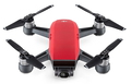 DJI Spark Fly More Combo 4rotors Rouge caméra drone