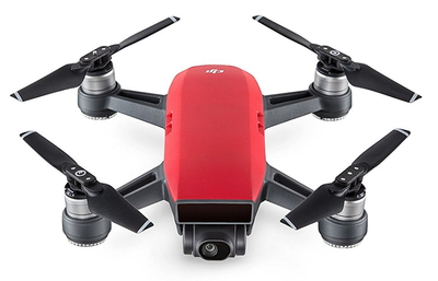 DJI Spark Fly More Combo 4propellers Rood camera-drone