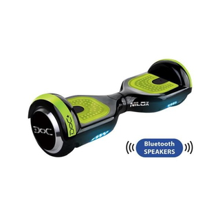 DOC Plus Green Hoverboard Bluetooth Speakers