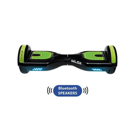 Nilox DOC Plus Green Hoverboard Bluetooth Speakers