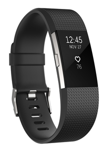 Fitbit Charge HR 2 Zwart (L)