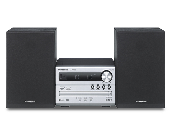 Panasonic SC-PM250 Home audio micro system 20W Argent