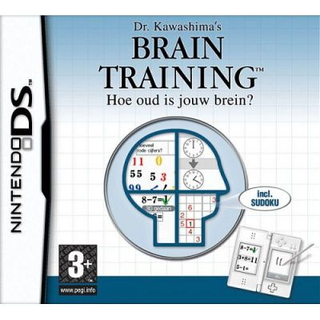 Nintendo Dr. Kawashima's Brain Training, NDS Basis Nintendo DS Nederlands