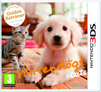 Nintendogs + cats: Golden Retriever & New Friends Nintendo 3DS Anglais