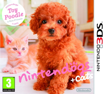 Nintendo nintendogs + cats: Toy Poodle & New Friends Nintendo 3DS