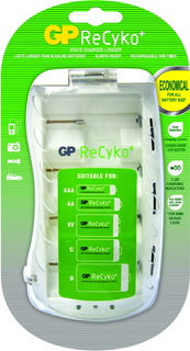 GP Batteries ReCyko+ PB19GS Indoor battery charger Wit