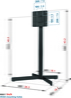 Vogels EFF 8230 Support TV - Pied