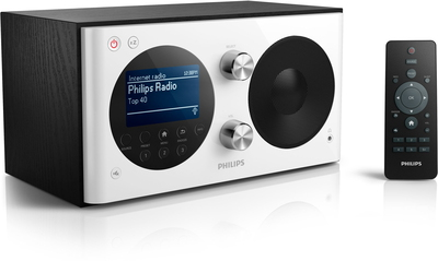 Philips AE8000/10 DAB+ Radio - Noir