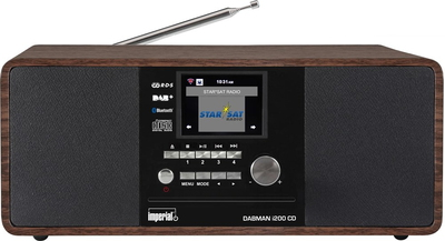Imperial Dabman i200 DAB+ Radio - Walnoot Hout