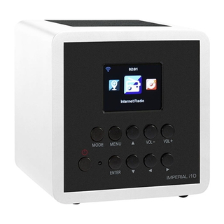 Imperial i10 digitale internetradio - wit