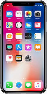 Apple iPhone X 64 GB Zilver