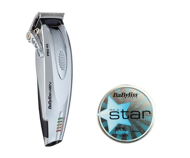 Babyliss Tondeuse Pro 45 P0971E + Wax Like a star