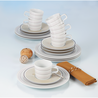 Seltmann Koffieservies - No Limits Cream Lines - 18-delig