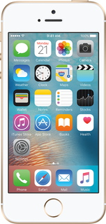 iPhone SE 128 Go Or