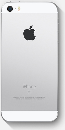 iPhone SE 128 GB Zilver