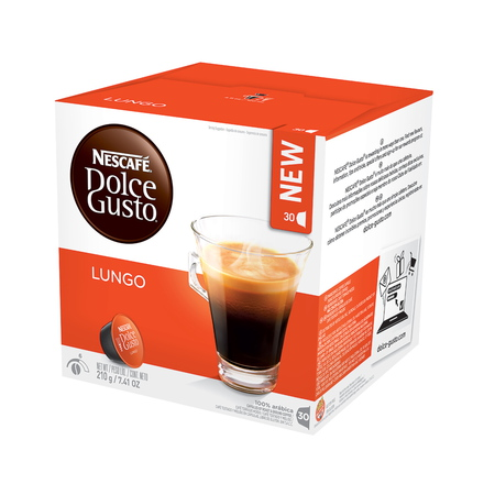 Dolce Gusto Capsule - Lungo Family Pack - 30