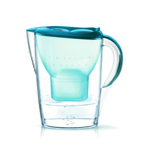 Waterfilterkan  - Fill & Enjoy - Marella Cool Basic Teal incl. 1 MAXTRA+