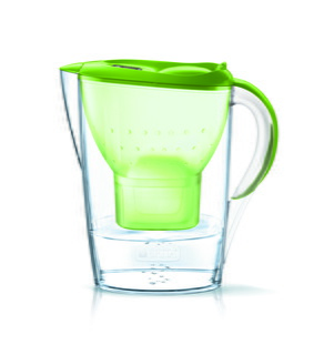 Carafe filtrante - Fill & Enjoy - Marella Cool Basic Lime incl. 1 MAXTRA+