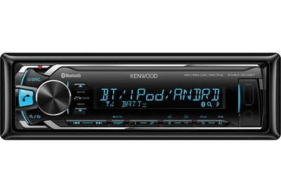 Kenwood Electronics KMM-303BT Bluetooth Zwart autoradio