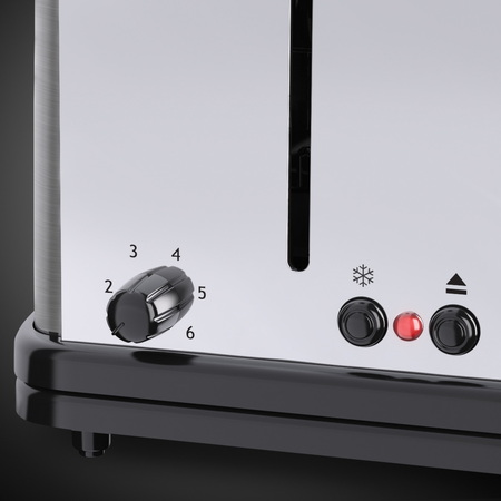 Russell Hobbs Grille-pain Oxford Long Slot 4S