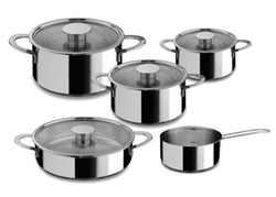 Set de 5 casseroles Gourmet