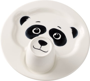 Villeroy&Boch Bord met beker - Animal Friends - Panda