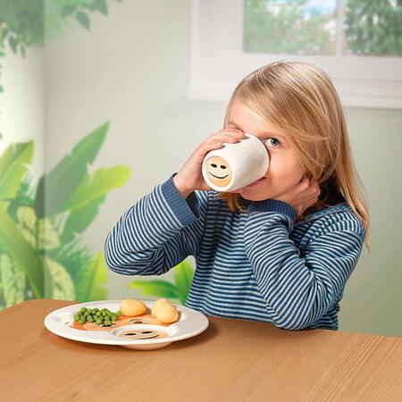 Villeroy&Boch Assiette avec gobelet - Animal Friends - Singe