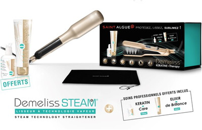 Saint Algue Stijlborstel Demeliss Steam - Keratine