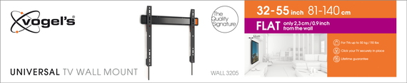 Vogels WALL 3205 Support TV - Mur