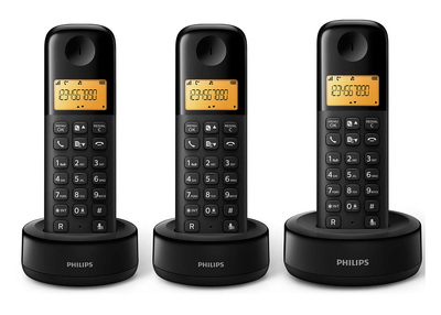 Philips D1303 Trio Noir