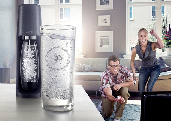 Sodastream Machine à boisson pétillante Spirit Black MegaPack