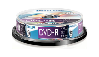 Philips Philips DVD-R DM4S6B10F/00