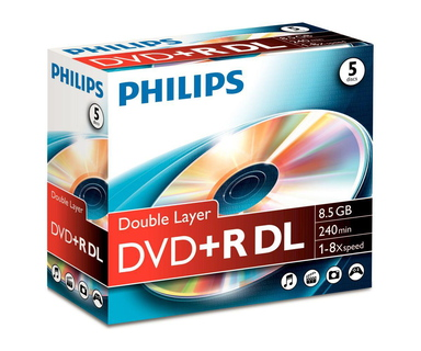 Philips Philips DVD+R DR8S8J05C/00