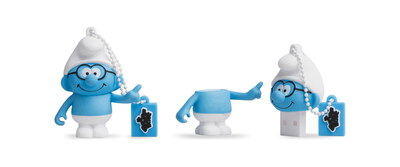 Tribe USB-stick 8 GB Brilsmurf - USB 2.0