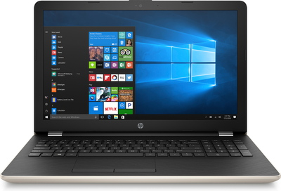HP Notebook 15-BS060NB Silk Gold