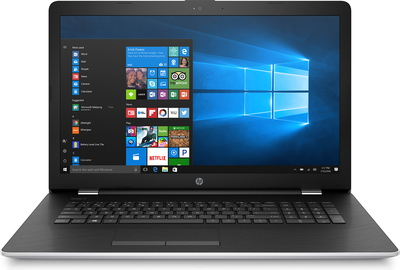 HP Notebook 17-BS045NB Natural Silver