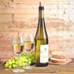 IHR Serviettes - Taste of White Wine