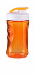 DOMO Gobelet de voyage - Orange - 30 cl