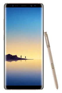 Galaxy Note8 Maple Gold + S-pen